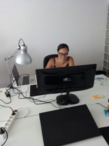 Nueva integrante del departamento de desarrollo web